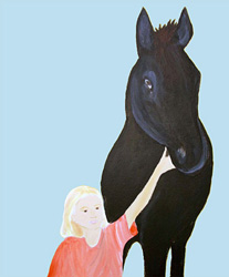 From Blackie, The Horse Who Stood Still